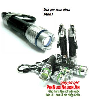 Đèn pin móc khóa siêu sáng TA002 bóng LED - Made in China | Có sẳn hàng