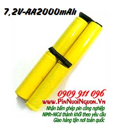 Pin máy quét nhà 7,2V-2000mAh, thay pin máy quét nhà, Thay cells pin | có hàng sẳn