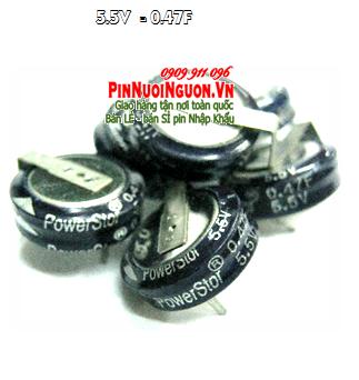 Pin tụ PowerSotf 5.5V-0.47F chính hãng | có sẳn hàng