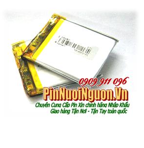 Pin sạc 3,7v Lithium Li-Polymer 354043 - 602mAh (3.5mmx40mmx43mm) | TẠM HẾT HÀNG
