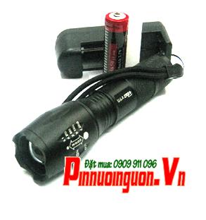 Đèn pin siêu sáng HuoYi HY-A100 thấu kính lồi | | TẠM HẾT HÀNG