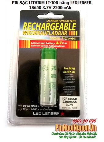 Pin sạc 3,7V Li-Ion Led Lenser ICR18650-2200mAh chính hãng  Led Lenser nhập khẩu| có sẳn hàng