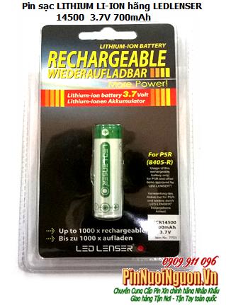 Pin sạc 3,7V Li-Ion Led Lenser ICR14500-700mAh chính hãng Led Lenser nhập khẩu | HẾT HÀNG