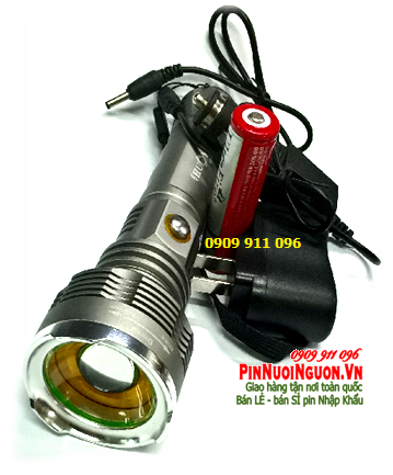 Đèn pin siêu sáng HuoYi TT-619 b1ong CREE LED chính hãng | TẠM HẾT HÀNG