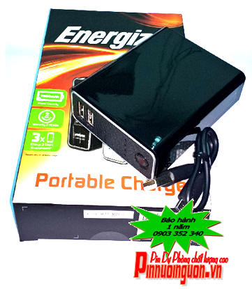 Pin sạc dự phòng Energizer 7800mAh UE7802 công nghệ mới chính hãng energizer | Có sẳn hàng