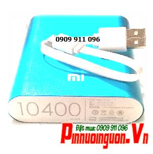 Pin sạc dự phòng Xiaomi 10 400mAh chính hãng Xiaomi China- dạng box sạc đã có sẳn 4 pin Li-Ion 18650| có sẳn hàng