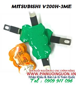 Pin nuôi nguồn PLC V200H-3ME  sạc 3.6V NiMh-NiCd 160mAh nuôi nguồn Mitsubishi PLC| có sẳn hàng