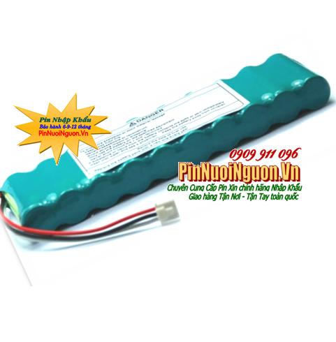 Pin đo điện tim Nihon Kohden Cardiofax S, type SB901D (12v-2000mAh); NiMh 12v 2000mAh Rechargeable Battery| CÒN HÀNG