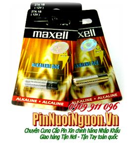 Pin Remote điều khiển 12V Maxell A27 Alkaline Battery chính hãng | có sẳn hàng