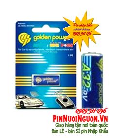 Pin Remote cửa, Pin 9V Golden Power A32 Alkaline 9V chính hãng | Tạm hết hàng