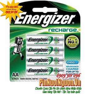 Pin sạc AA Energizer NH15 BP4-2450mAh 1,2V Made in Japan | Hãng hết SX mẫu này-HẾT HÀNG