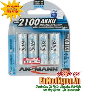 Pin sạc AA Ansmann Mignon HR6 AA-1.2V-2100mAh - BL4 - 5035052 | hàng có sẳn