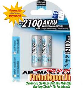 Pin sạc AA Ansmann Mignon HR6 AA-1.2V-2100mAh - BL2 - 5030992 | hàng có sẳn