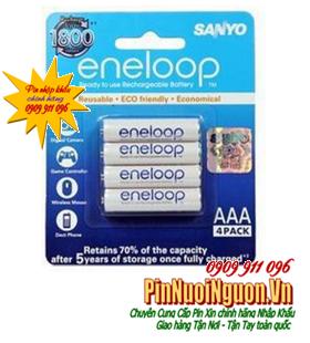 Pin sạc AAA Eneloop HR-4UTGB-4H/ 800mAh-1.2V-sạc được đến 1800 lần | mẫu cũ ngưng SX-chuyển mẫu mới BK-4MCCE