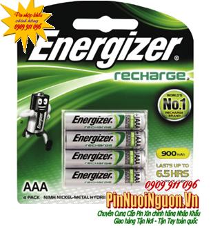 Pin sạc AAA Energizer AA900mAh BP4 - 1.2V chính hãng Energizer | hết hàng-hãng ngưng sản xuất mẫu cũ này