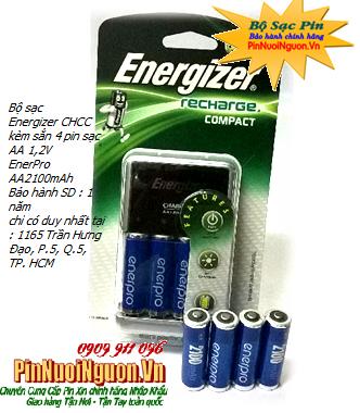 Bộ sạc pin Chuột vi tính không dây CHCC-4EnerPro AAA800mAh, Bộ sạc kèm sẳn 4 pin sạc EnerPro AAA800mAh 1.2v| hàng có sẳn