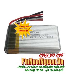 Pin sạc Lithium Lipolymer 7.4v 700mAh, Pin sạc Lipolymer 7.4v 700mAh chuyên dụng| có sẳn hàng