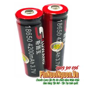 Pin sạc 3.7v Lithium Li-Ion Siluwang 18650-4200mAh chính hãng Made in China | HẾT HÀNG