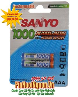 Pin sạc AAA  1.2v Sanyo HR-4U-2BP , AAA1000mAh chính hãng Made in Japan| có sẳn hàng