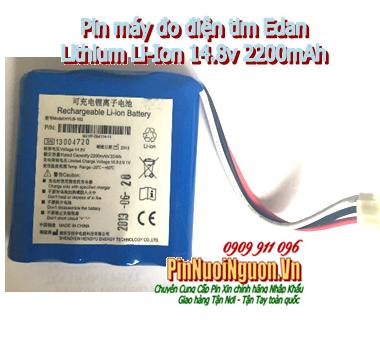 Pin máy điện tim EDAN Lithium Li-Ion sạc 14.8v 2200mAh chính hãng | có sẳn hàng