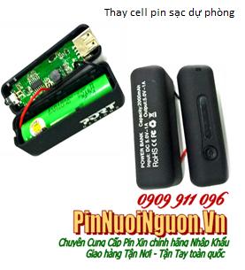 Thay Cell pin sạc dự phòng PowerBank Lithium Li-Ion 2000mAh chính hãng | có sẳn hàng