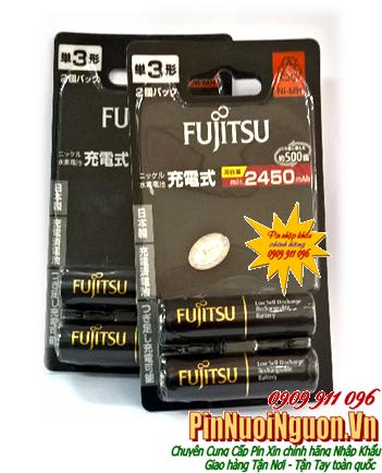 Pin sạc AA Fujitsu HR-3UTHC (2B) -Min2450mAh,Max2700mAh- 1.2V chính hãng Fujitsu Made in Japan| HẾT HÀNG