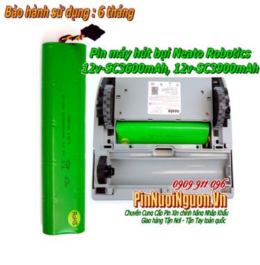 Pin sạc NiMh máy hút bụi lau nhà Neato Robotics 12V-SC600mAh chính hãng, Thay cells pin | bảo hành 6 tháng - Hàng có sẳn