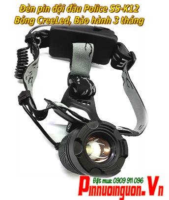 Đèn pin đội đầu siêu sáng SS-K12 bóng CreeLed với thấu kính lồi | Bảo hành 6 tháng - TẠM HẾT HÀNG