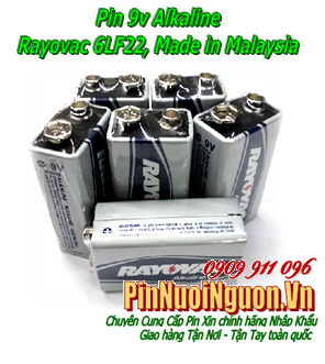 Pin 9V Rayovac 6LF22 Alkaline Battery chính hãng Rayovac USA Made in USA | hàng có sẳn