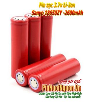Pin sạc 3.7v Li-ion Sanyo 18650ZY-2600mAh chính hãng | TẠM HẾT HÀNG