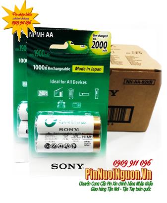 Pin sạc AA 1.2v Sony Premium NH-AA2000-B2KN chính hãng Made in Japan | HÀNG CÓ SẲN