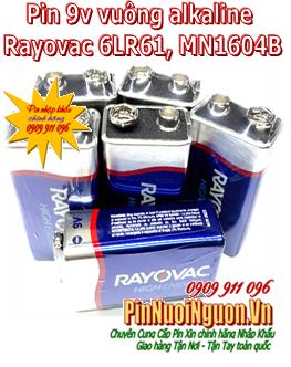 Pin 9v vuông alkaline Rayovac 6LF22 chính hãng Made in Malaysia | HÀNG CÓ SẲN