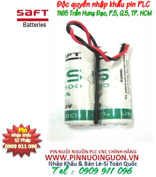 Pin nuôi nguồn PLC lithium 3,6V Saft 2LS17500 size A-7200mAh Made in France | hàng có sẳn
