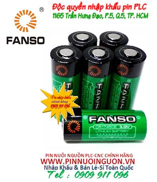 Pin nuôi nguồn FANSO CR17450E lithium 3v 2200mAh chính hãng | HÀNG CÓ SẲN