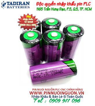 Pin nuôi nguồn Tadiran TL-5955 lithium 3.6V size 2/3AA 1500mAh chính hãng Made in Israel| có sẳn hàng