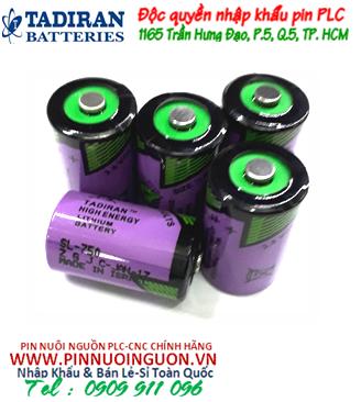 Pin nuôi nguồn Tadiran SL-750 lithium 3.6V  1/2AA 1000mAh chính hãng Made in Israel| HÀNG CÓ SẲN