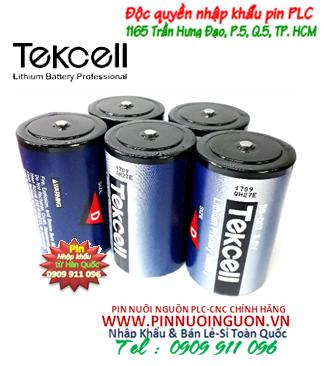 Pin SB-D02; Pin Tekcell SB-D02; Pin nuôi nguồn PLC Tekcell SB-D02 lithium 3.6v D 19000mAh _Xuất xứ Hàn Quốc