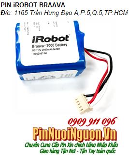 Pin iRobot Braava 7.2v 2000mAh - Pin sạc NiMh chính hãng| Hàng có sẳn-Bảo hành 6 tháng