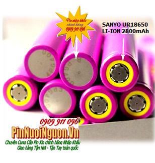 Pin sạc công nghiệp Li-Ion 3,7V Sanyo UR18650ZT (UR18650ZT-325A) - 2800mAh chính hãng Made in Japan | HẾT HÀNG