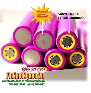 Pin sạc công nghiệp 3,7V Li-Ion Sanyo UR18650 (UR18650ZTA-I08A) -3000mAh chính hãng Made in Japan | HẾT HÀNG