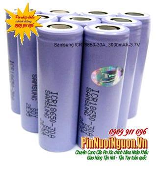 Pin sạc công nghiệp Li-Ion Samsung ICR18650-30A,SDI-2E95 - 3000mAh-3.7V chính hãng | HẾT HÀNG