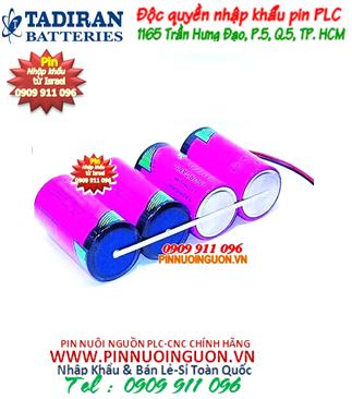Pin Tadiran TL-5930; Pin Tadiran TL-5930 (3 viên ghép lại như hình) lithium _Xuất xứ Israel