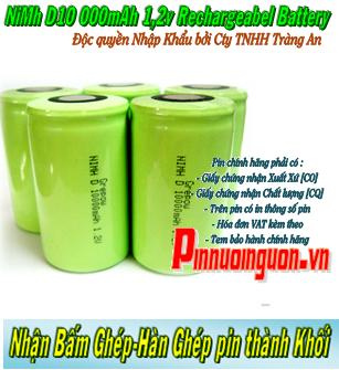 Pin cell NIMH-NICD chuyên dụng xe đạp điện Grepow D10000mAh chính hãng | Nhận bấm ghép thành khối theo yêu cầu riêng