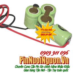 Pin sạc 3,6V-1/3AA-300mAh, (1/3AAx4cells) Pin sạc công nghiệp nuôi nhớ PLC 3,6V-1/3AA-300mAh | hàng có sẳn