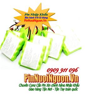 Pin sạc 4,8V-AA600mAh, Pin sạc công nghiệp NIMH/NICD 4,8V-AA600mAh chính hãng
