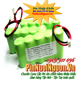 Pin sạc khối  NIMH/NICD 6V-SC2000mAh (SCx5cells )chính hãng | hàng có sẳn - Bảo hành 03 tháng