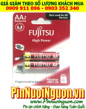 Fujitsu LR6 High Power; Pin AA 1.5v Alkaline Fujitsu LR6 High Power  Made in Indonesia | TẠM HẾT HÀNG -Vỉ 2viên