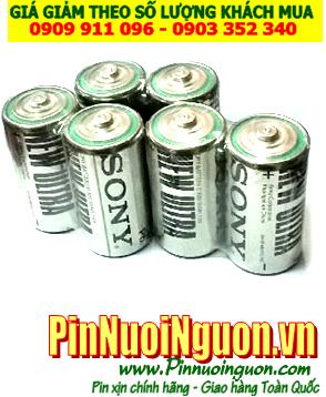Pin Sony SUM2, R14; Pin SUM2  R14; Pin trung C 1.5v Sony SUM2, R14  Vỉ 2viên | HẾT HÀNG