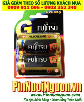 Pin Fujitsu MN1300, LR20; Pin MN1300 LR20; Pin đại D 1.5v Alkaline Fujitsu MN1300, LR20 Made in Japan Vỉ 2viên| HẾT HÀNG