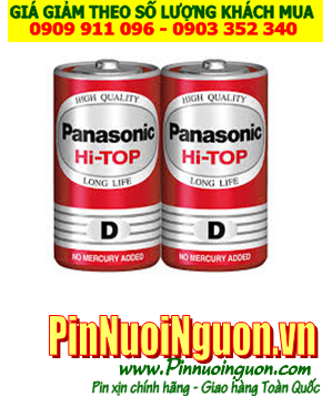 Pin Panasonic R20DT/2S; Pin đại D 1.5v Panasonic R20DT/2S Hi-top heavy Duty _vỉ 2viên | HẾT HÀNG